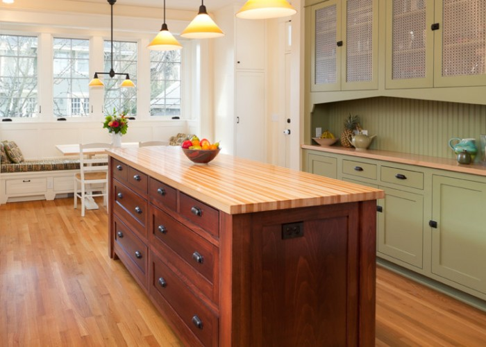 butcher block countertops finished with wood countertop